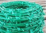 Barbelé enduit galvanisée et de PVC (BW-7)
