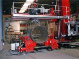 Cannelure profonde Weldingoes de sous-arc de rotateurs de la tonne Sh500
