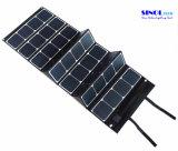 Tela 120W da lona que dobra o carregador do painel solar de Sunpower com o 18V Output para para o portátil, barco, carro de golfe 12V Batery (FSC-120A)