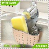 ふるいの洗浄バスケットは、携帯用台所ハングの下水管袋のバスケットの浴室の記憶流しのホールダー、二重層のバスケットに用具を使う