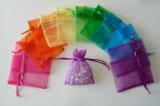 Изготовленный на заказ Organza Bag для Gift Drawstring Bag