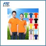 T-shirt 100% puro do algodão para a promoção