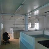 Berühmtes fabrikmäßig hergestelltes temporäres Haus-entfernbares vorfabriziertes Büro