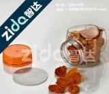 I vasi di plastica liberi trasparenti poco costosi dell'animale domestico inscatolano per alimento con l'estremità aperta di Eay