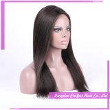 Parrucca lunga del merletto del Brown del nero anteriore diritto