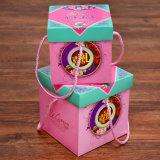 Rectángulo de regalo creativo del papel cuadrado del estilo chino, rectángulo de regalo del bocado de la mano