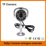 CCTV ao ar livre Camera de Bullet do Tempo-Proof do IR com ranhura para cartão do TF