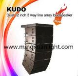 """Kudo verdoppeln """" bewegliches Multifunktionssystem des lautsprecher-12"""