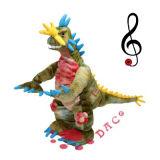 Het Elektrische Stuk speelgoed van de Dinosaurus van de pluche