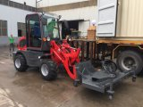 Venda quente de Hzm 908 vermelhos do carregador carregador da roda do carregador de Europa no mini