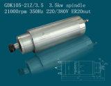 asse di rotazione di raffreddamento ad acqua 3.5kw di 105mm (GDK105-21Z/3.5)