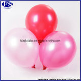 Colorful Red 100% Natural Latex Round Pearl Balloon Publicité Impression Ballon Latex Balloons