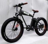 Harley 바닷가 함 뚱뚱한 타이어 26 인치 눈 전기 자전거