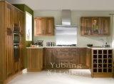 Gabinete de cozinha padrão de madeira por atacado #175 de E1 Europa