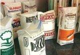 Sac de papier de bouche ouverte de 2 plis pour le bourrage de grains de café de graine d'alimentation