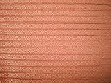 リネン綿の糸は複雑な小切手ファブリックを染めた