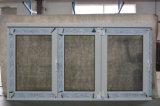 [كز226] [هيغقوليتي] حراريّة كسر ألومنيوم 3 أطر يطوي نافذة