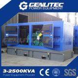 200 kVA insonorizadas generador de energía diesel con motor Cummins (GPC200S)