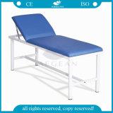 背部によって調節される青いマットレスの医学の検査のベッドの処置表(AGEcc01)