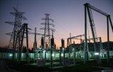 Estructura de acero de la subestación de China con la certificación de la ISO