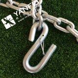 Semi автоматическая цепь сваренная G30 с крюком и защелкой s