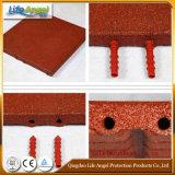 Нетоксическая прочная эластичная напольная резиновый плитка, резиновый плитка пола