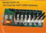 Gateway de GM/M VoIP GoIP16/SIP/Gateway GoIP-16 16channels de VoIP GM/M fabriqué en Chine