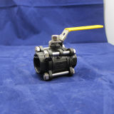 Wcb 3PC Ball Valve con Locked Estremità