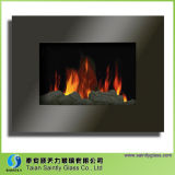 Verre Tempered de cheminée