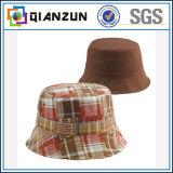 Concevoir le chapeau floral populaire de position de logo d'étiquette