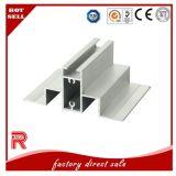Perfil de alumínio/de alumínio da extrusão para a parede de cortina mais de alta qualidade da porta do indicador