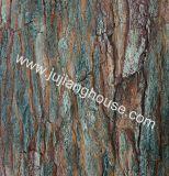Tijolos de madeira de pedra da pele do cimento da pedra cultivada