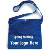 Задействуя мешок питания с печатание логоса клиента