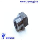 L'OEM partie l'adapteur convenable hydraulique masculin en aluminium d'embout de durites