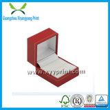 Rectángulo de reloj de papel de encargo del diseño del OEM de la alta calidad con la esponja