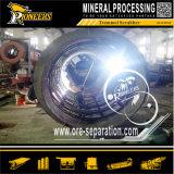 채광 장비 회전하는 드럼 스크린 기계 금 회전식 원통의 체 세척 플랜트