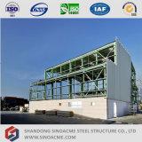 Vertiente ligera prefabricada de la estructura de acero de la alta subida