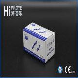 CE / ISO aprovou almofadas de álcool isopropílico não esterilizado não esterilizado com 70% de tecido