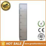 2017 armadio d'acciaio del portello dell'armadio 5 di ginnastica della grande mobilia commerciale del metallo