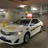 Alta pantalla de visualización al aire libre de LED de la tapa del taxi del brillo P5 de México