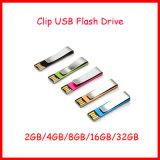 Mecanismo impulsor del flash del USB del mini del disco USB3.0 del metal mini clip de la dirección de la Internet