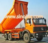 Speicherauszug-Lastkraftwagen mit Kippvorrichtung Mercedes-Benze 30-50t V3 Ng80 Beiben