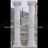 Fléau blanc Mcol-161 de Carrare de fléau en pierre de marbre de granit