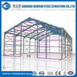 Gruppo di lavoro chiaro prefabbricato della struttura d'acciaio per l'ufficio provvisorio/vivere/costruzione