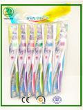 Cepillo de dientes popular del adulto del embalaje del casquillo de Saels 2017