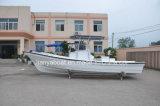 barco de la pesca profesional del barco del taxi de la fibra de vidrio de los 25FT para la venta China