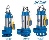 V Typ der Seires Edelstahl-Abwasser-versenkbarer Wasser-Pumpen-V