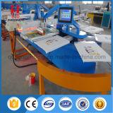 Machine d'impression ovale d'écran en soie de tissu automatique avec 4/8/10/12/16 de couleurs