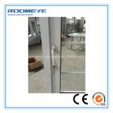 Roomeye la mayoría de la puerta superventas popular del marco del PVC con la lumbrera de aluminio