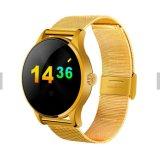 Montre intelligente du moniteur du rythme cardiaque Mtk2502 Bluetooth K88h pour l'IOS et le téléphone androïde